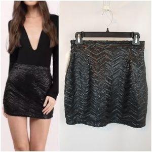 Tobi Sequin Skirt